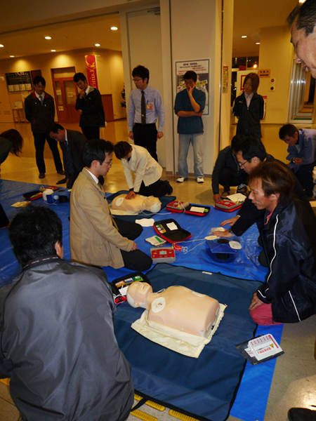 AED講習会(市民プラザ)